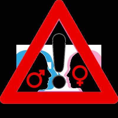 End Gender War Global Transparent Logo